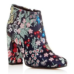 Sam Edelman Campbell Floral Embroidered Booties